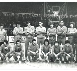 Šampionski tim 1973. godine na čelu sa trenerom Pivom Ivkovićem